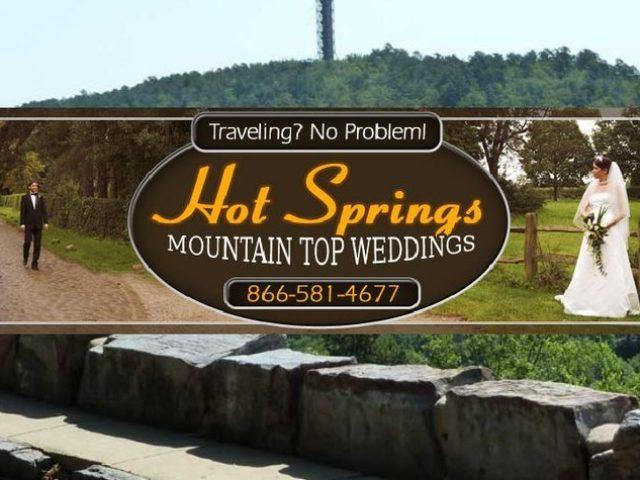 Hot Springs Mountain Top Weddings